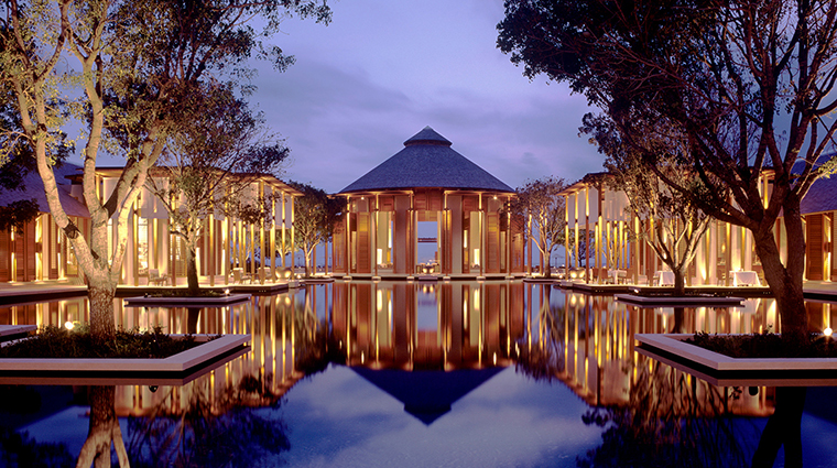 Amanyara Grand Reflecting Pond