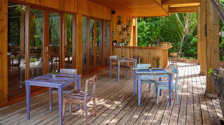 amilla fushi wellness cafe