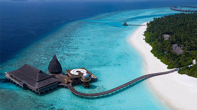anantara kihavah maldives villas SEA FIRE SALT SKY aerial