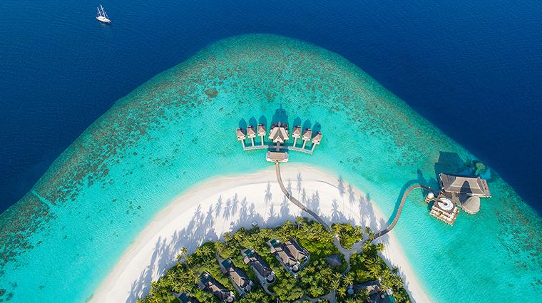 anantara kihavah maldives villas aerial hero