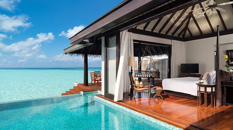 anantara kihavah maldives villas over water villa pool