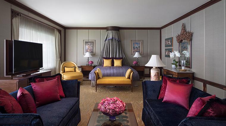 anantara siam bangkok hotel presidential suite master