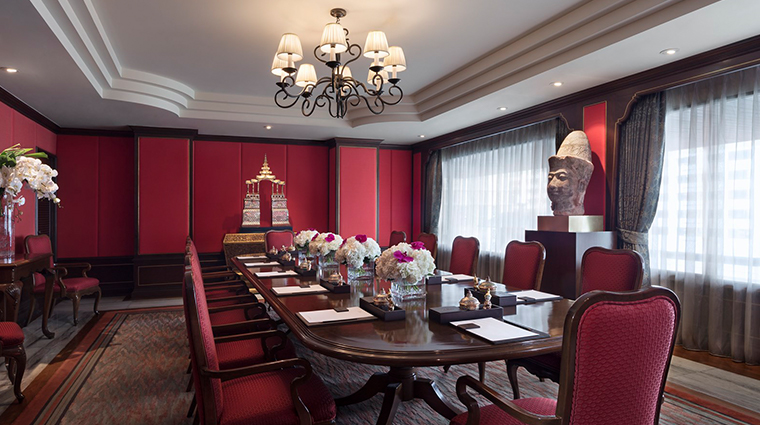 anantara siam bangkok hotel presidential suite meeting room