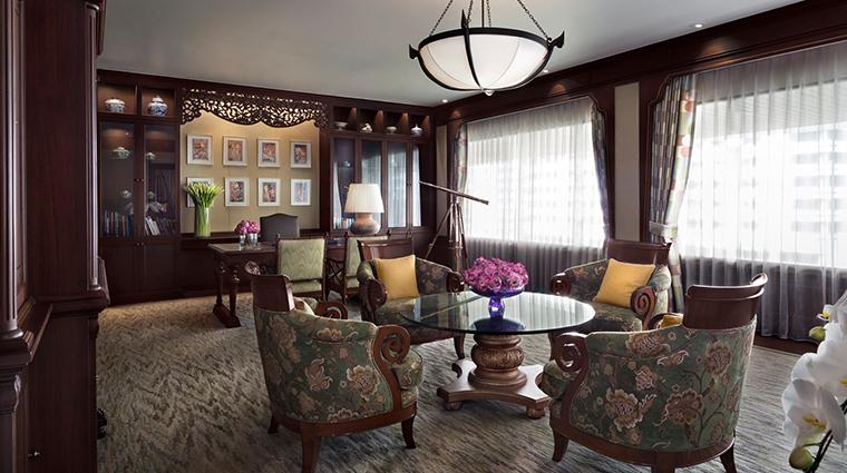 anantara siam bangkok hotel presidential suite