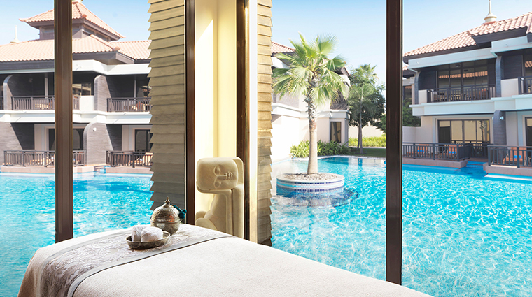 anantara the palm dubai resort anantara spa treatment room