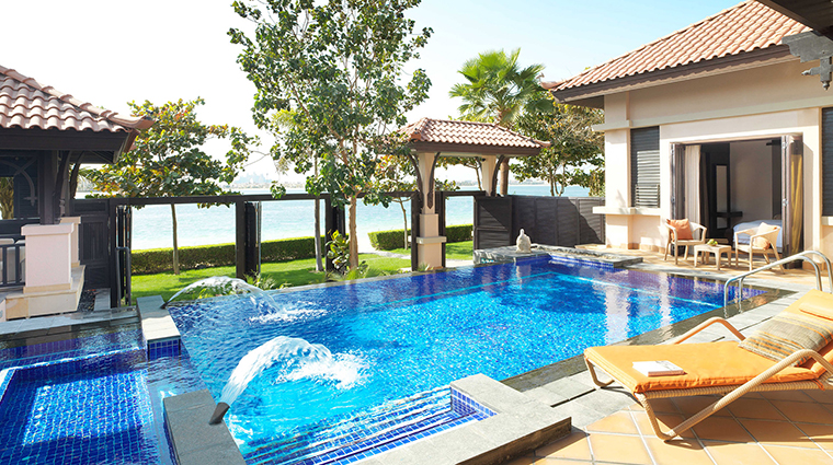 anantara the palm dubai resort two bed villa