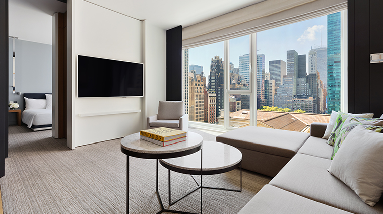 andaz 5th avenue city view