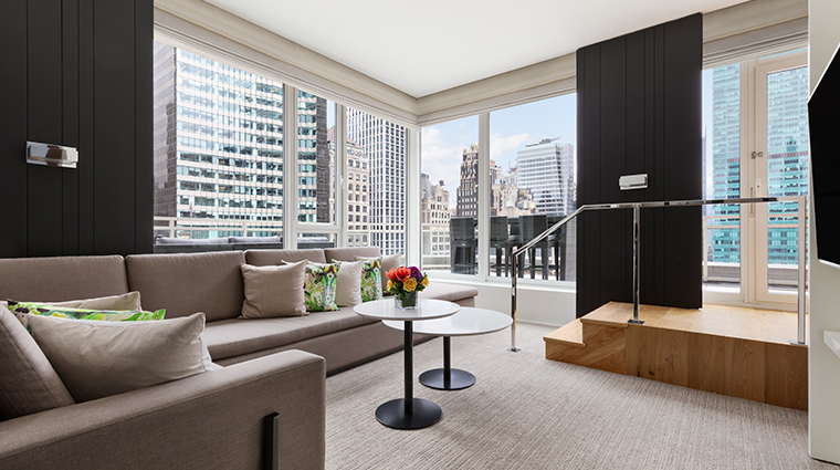 andaz 5th avenue empire terrace living room