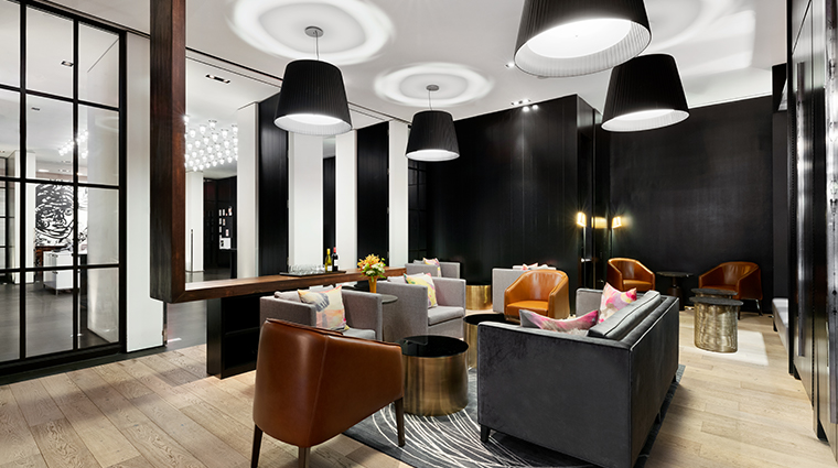 andaz 5th avenue lobby lounge