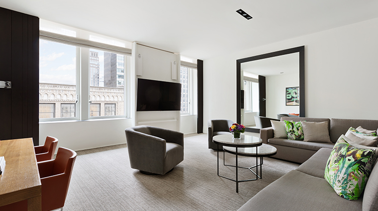 andaz 5th avenue two bedroom suite
