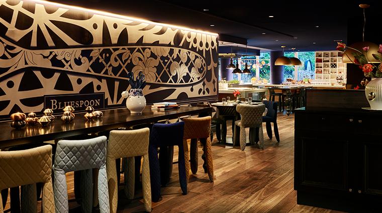 Andaz Amsterdam Prinsengracht Bluespoon Restaurant Upper Deck Open Kitchen