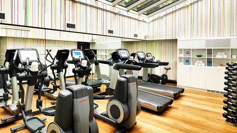 andaz amsterdam prinsengracht fitness center