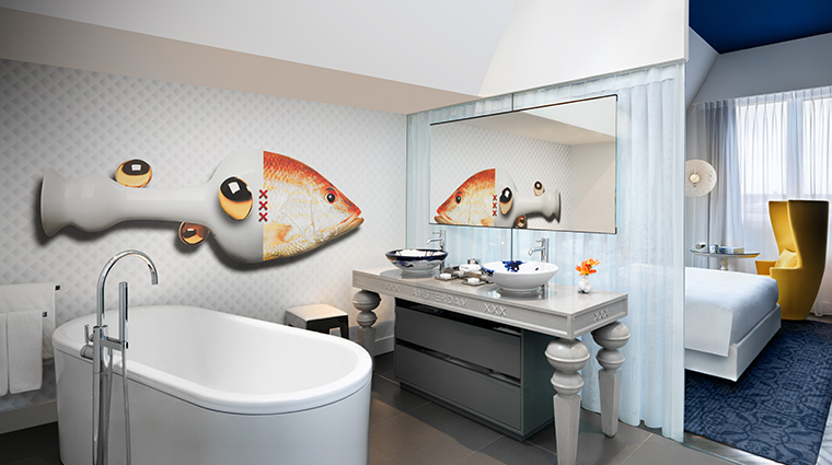 andaz amsterdam prinsengracht suite bathroom