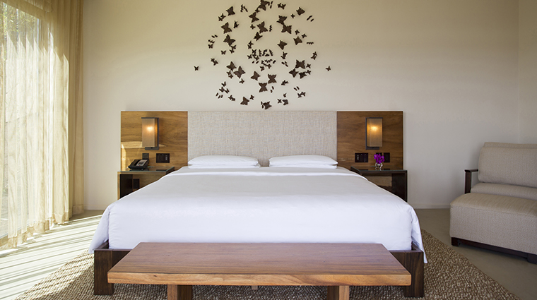 andaz peninsula papagayo resort bedroom