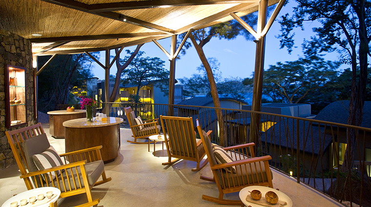 andaz peninsula papagayo resort rocking chairs
