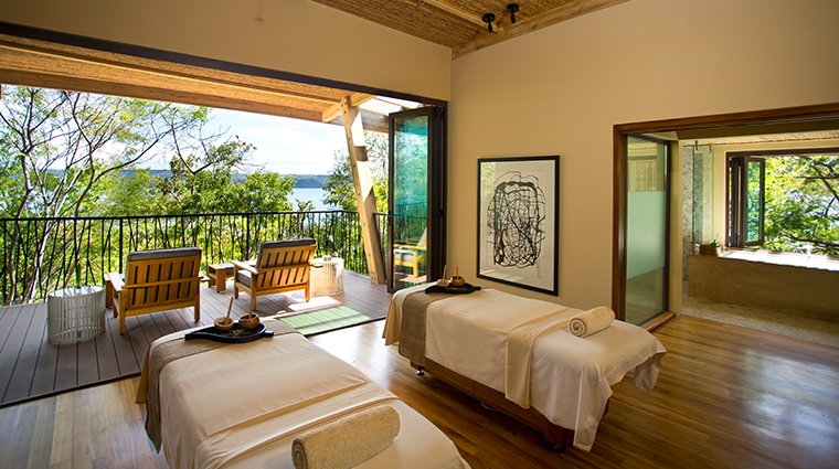 andaz peninsula papagayo resort spa couples treatment room