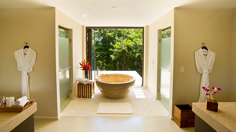 andaz peninsula papagayo resort suite bathroom
