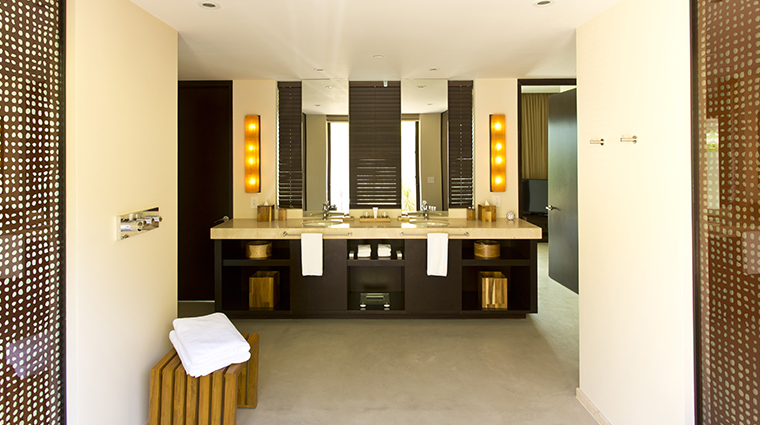 andaz peninsula papagayo resort suite sinks