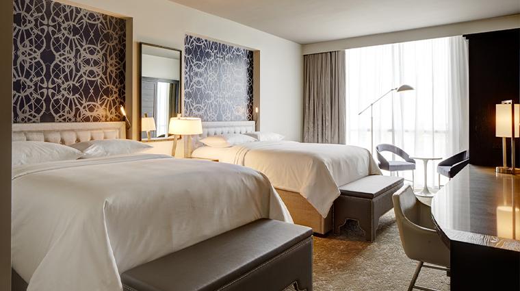 archer hotel austin double queen guestroom