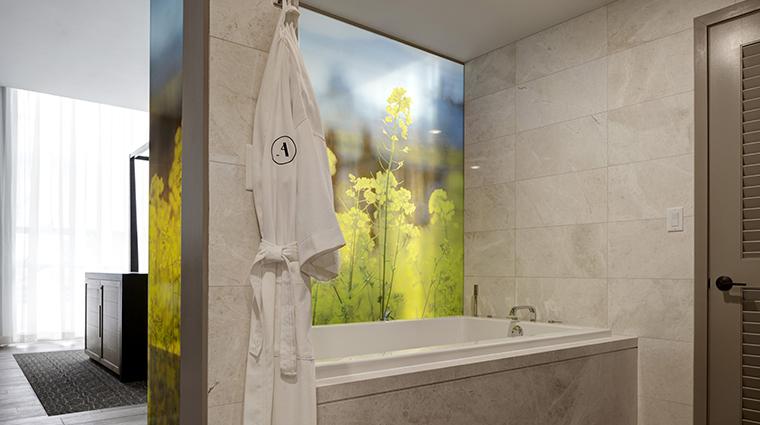 archer hotel napa archers den bathroom tub