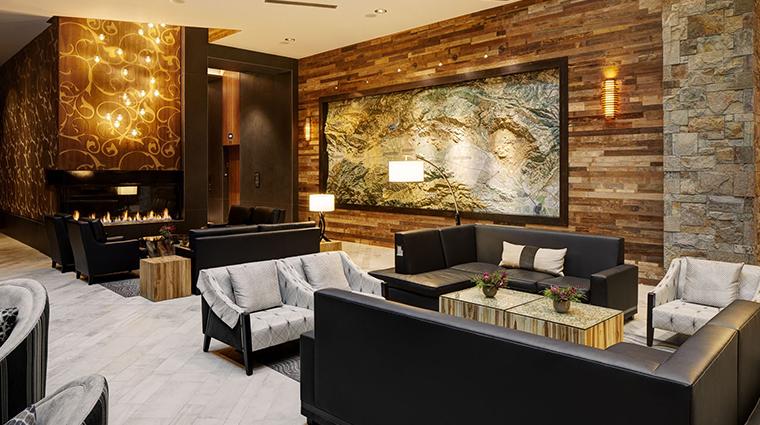 archer hotel napa lobby area