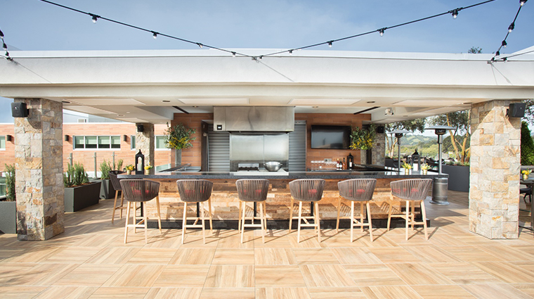 archer hotel napa sky vine rooftop