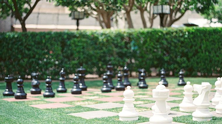 arizona biltmore a waldorf astoria resort giant chess set