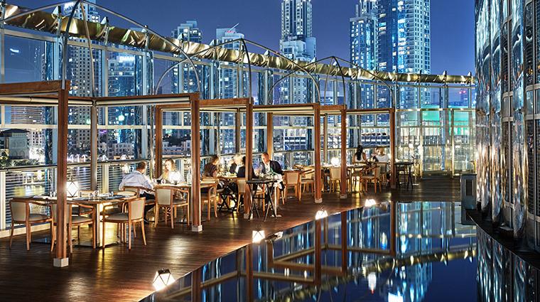 armani hotel dubai amal terrace