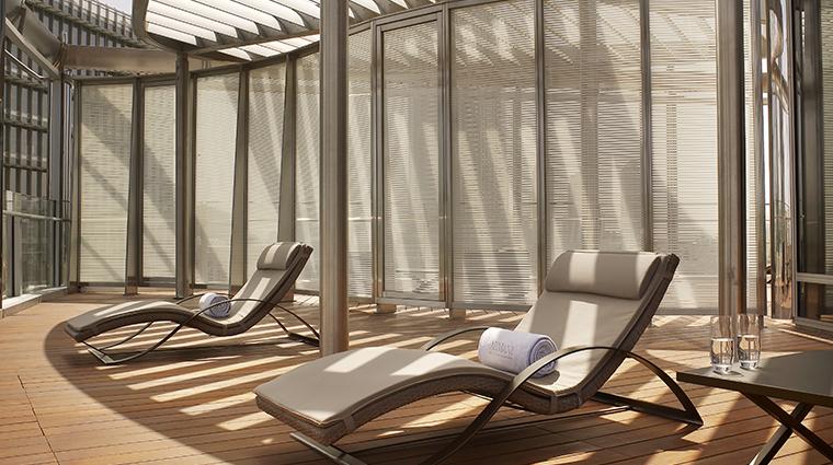 armani hotel dubai ambassador suite balcony