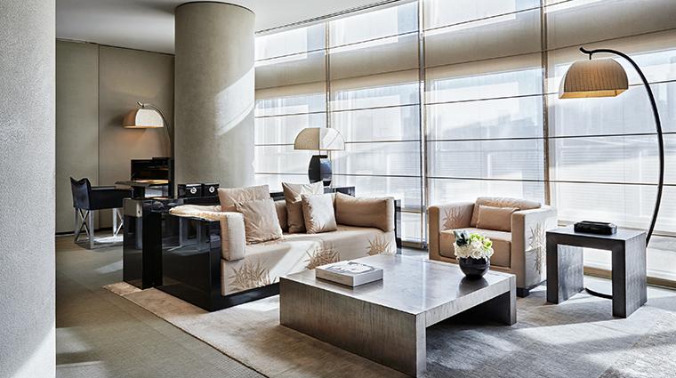 armani hotel dubai ambassador suite living room