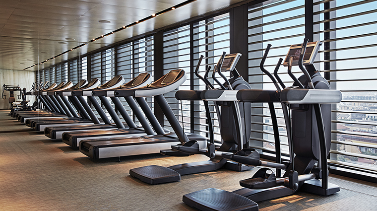 armani hotel milano fitness center