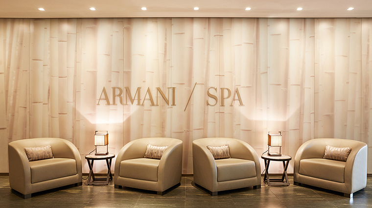 armani hotel milano spa entrance