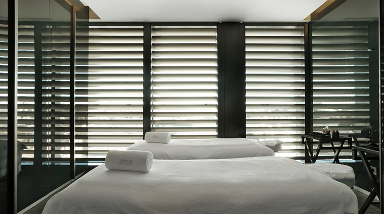 armani hotel milano treatment room