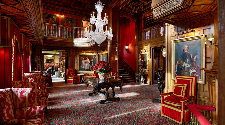 ashford castle oak hall