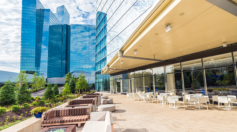aspire at mohegan sun bean and vine terrace