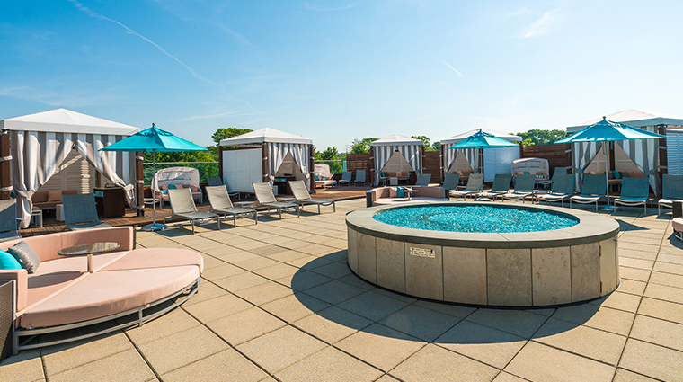 aspire at mohegan sun sky tower vip cabanas sun terrace