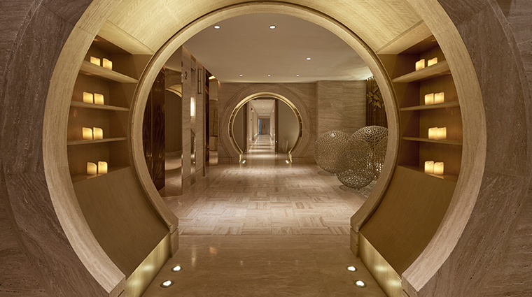 atlantis sanya spa walkway