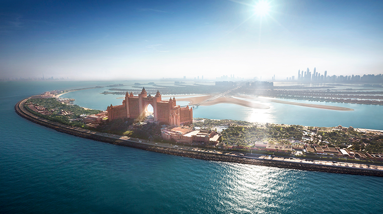 atlantis the palm aerial