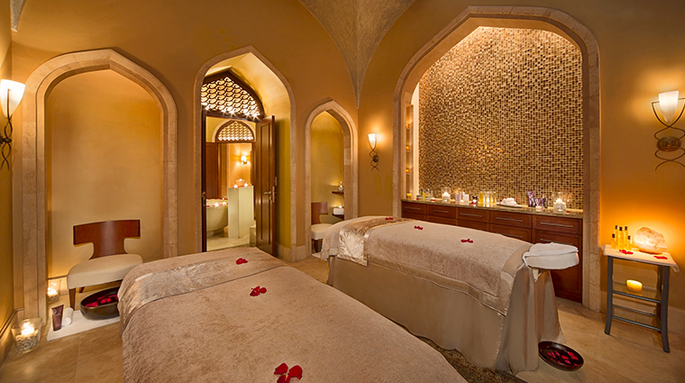 atlantis the palm couples treatment room