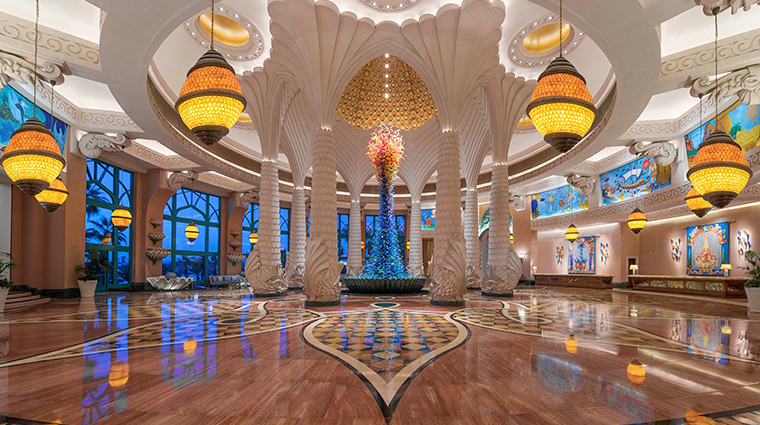 atlantis the palm lobby