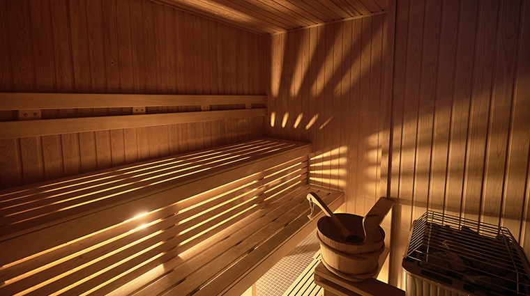 auberge saint antoine sauna