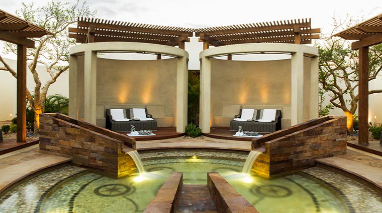chileno bay resort residences auberge resorts collection reflexology pool