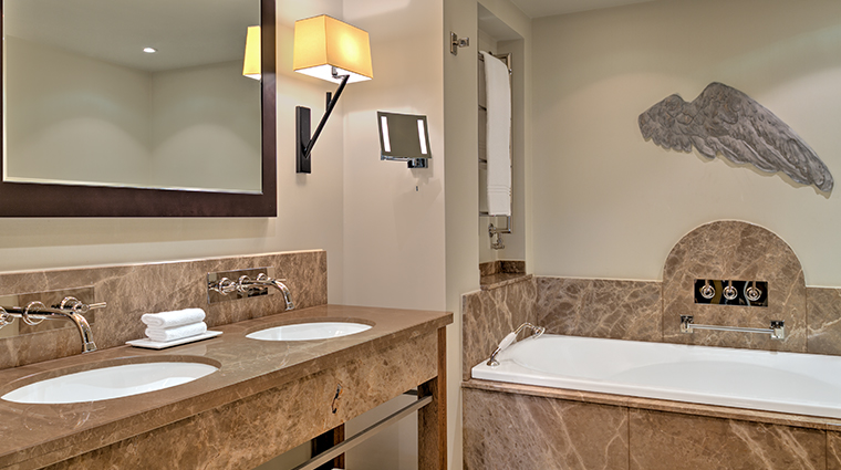 augustine a luxury collection hotel bathroom