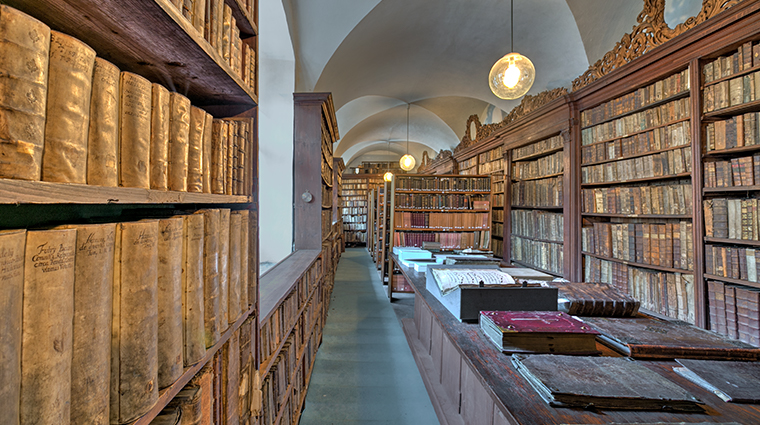 augustine a luxury collection hotel monastery library