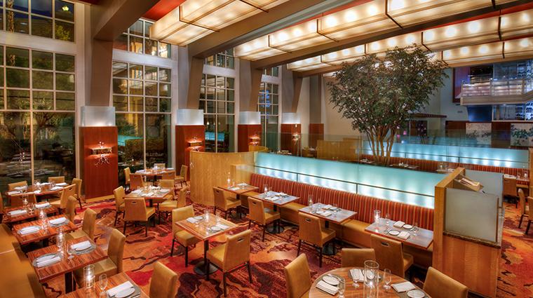 aureole las vegas dining room