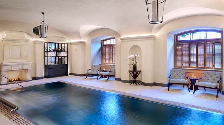 ava spa at four seasons hotel prague pool angle