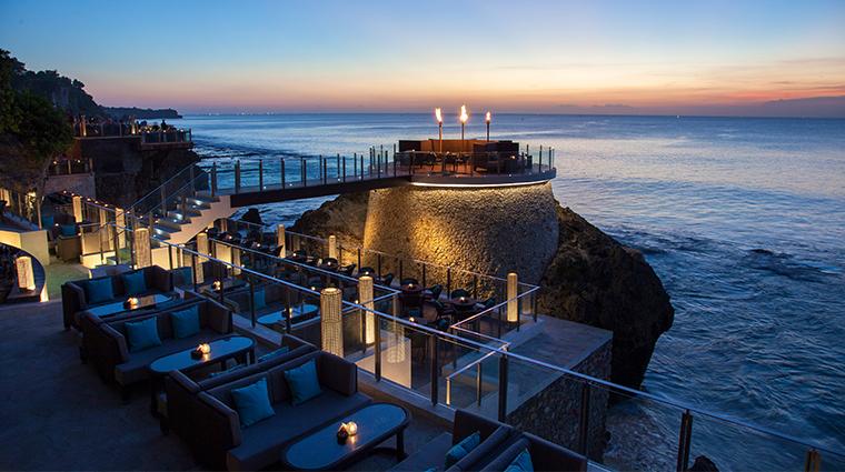 ayana resort and spa bali Rock Bar deck