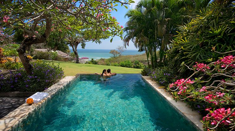 ayana resort and spa bali ocean view villa pool