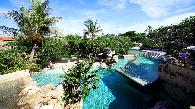 ayana resort and spa bali river pool