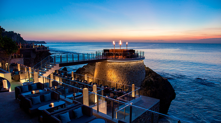 ayana resort and spa bali rock bar